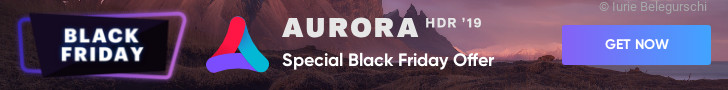 Aurora Black Friday - 728x90